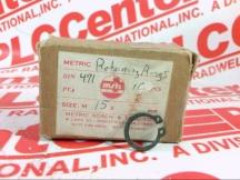 METRIC SCREW & TOOL CO DIN-471-15MM-BL