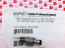 CPC INTELLIGENT FLUID COUPLING MCD2402