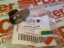 ALPHA FITTING 86330-06-06
