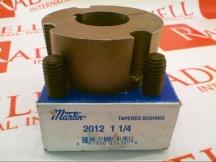 MARTIN SPROCKET & GEAR INC 2012 1 1/4