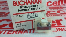 BUCHANAN TERMINAL BLOCKS 624