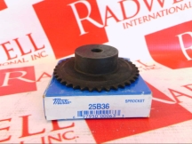 MARTIN SPROCKET & GEAR INC 25B36