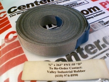 VALLEY INDUSTRIAL RUBBER 3/4X263FNT-5P