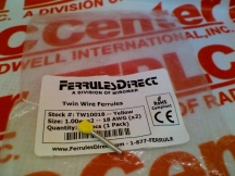 FERRULES DIRECT TW10018-EACH