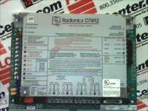 RADIONICS INC D7412