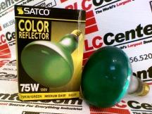 SATCO 75R30/GREEN