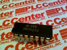 NATIONAL SEMICONDUCTOR DM7417J