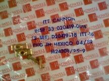 ITT CANNON 020419-0018