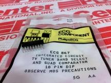 SYLVANIA ECG ECG867