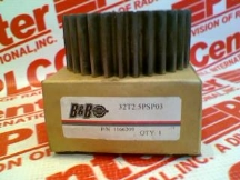 B&B MANUFACTURING 32T2.5PSP03