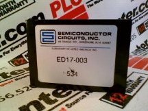 SEMICONDUCTOR CIRCUITS ED17-003-534
