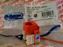 AMP NETCON DIV CAT-5E-RJ45-RED