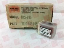 WARNER ELECTRIC MCS-815