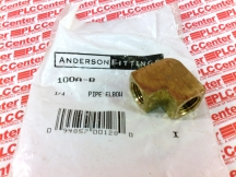ANDERSON FITTINGS 100A-B