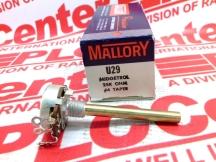 MALLORY SONALERT U29