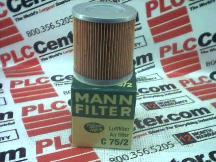 MANN FILTER C75/2