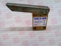 FABCO-AIR INC MSV-2