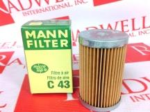 MANN FILTER C43