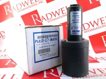 PLAST-O-MATIC VALVES INC RVT050V-PV