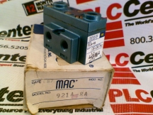 MAC VALVES INC 921A-RA