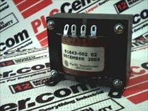 PACIFIC TRANSFORMER 91643-002-02