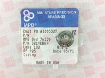 MINIATURE PREC BEARING S814CHH7