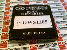 INTERNATIONAL POWER GWS1205