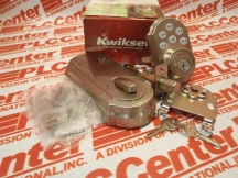 KWIKSET CORPORATION 909-15-SMT-CP