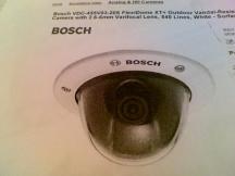 BOSCH SECURITY SYSTEM VDC-455V03-20S