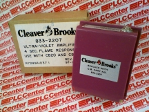 CLEAVER BROOKS 833-2207
