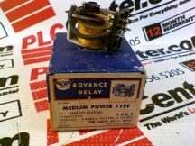 ADVANCE RELAY GHA/2C/24VAC