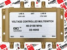 GC ELECTRONICS 324040