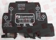 CONTINENTAL INDUSTRIES IO-OAC-R0-280