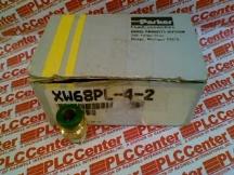 PARKER FLUID CONNECTORS XW68PL-4-2