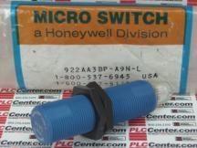 MICROSWITCH 922AA3BP-A9N-L