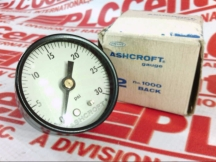 ASHCROFT 20-1000-H-02B-30