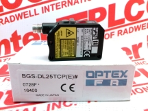 OPTEX BGS-DL25TCP