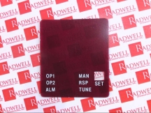 WEST CONTROL SOLUTIONS 3800-FACEPLATE-RED