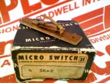 HONEYWELL MICROSWITCH SK-2