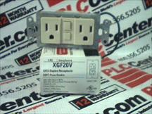 COOPER WIRING DEVICES XGF20V