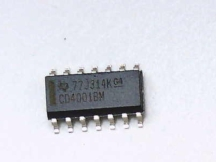 TEXAS INSTRUMENTS SEMI CD4001BM