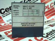 ANALOG DEVICES 3B47-K-05