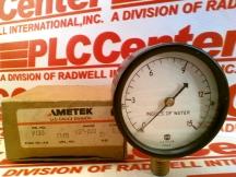 AMETEK US GAUGE P733-2.5-1/4LM-15IN-H2O