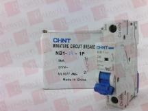 CHINT NB1-D6-1P