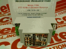 NEUROLOGIC RESEARCH CORP 110A-FFT-10