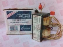 ADVANCE BALLAST 71A7971-001D