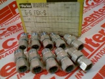 FITTINGS DIVISION 6-6-F6X-S