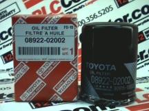 TOYOTA 08922-02002
