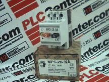 MOELLER ELECTRIC MPS-20-NA