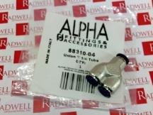 ALPHA FITTING 88310-04